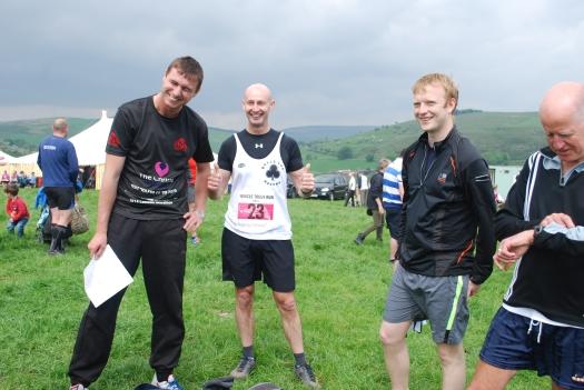Adam, Simon, Tom and Barry @ Wincle